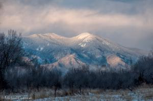 Winter's Light - Taos New Mexico