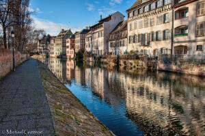Petite France Quarter of Strasbourg France
