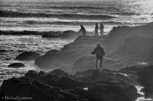 Fishermen - Yachats Oregon