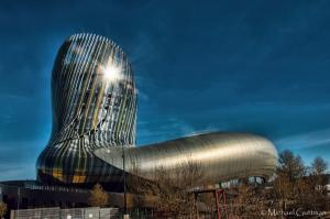 La Cité du Vin - The City of Wine in Bordeaux France