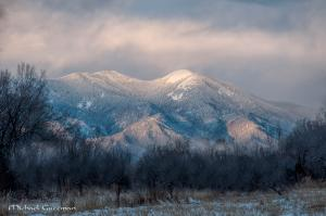 Winter's Light - Taos